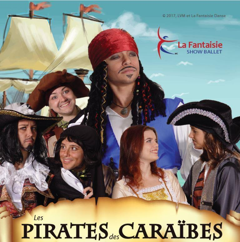 Affiche Les Pirates des Caraibes Montréal 23 décembre 2017