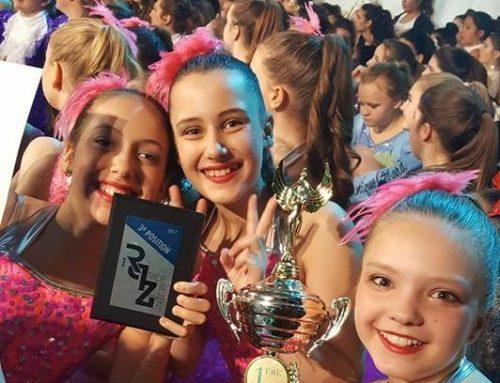 Le trophée pour « La Fantaisie Danse » à RepereZent 2017 !