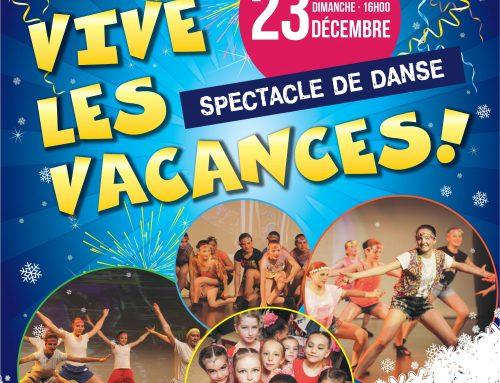 Vive les vacances ! – spectacle, 23 déc 2018, Montréal