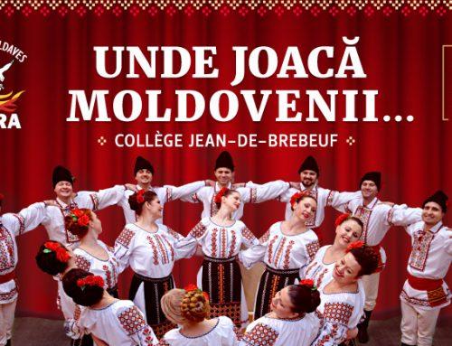 Unde joaca moldovenii…22 juin 2018. Spectacle de danse et de musique moldave